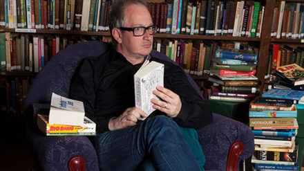 Robin Ince, photo by Timothy Ginn