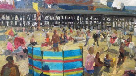 Blackpool Beach, Adam Ralston