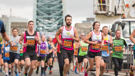 Great North Run, image by Phil Pounder