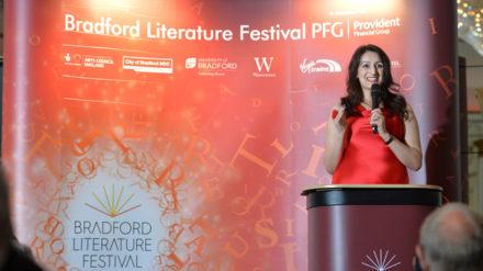 Bradford Literature Festival 2017 Launch Dinner at the Midland Hotel, Bradford. 29.06.17