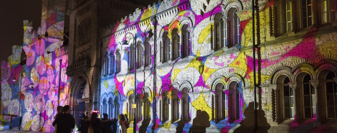 ANALOGUE PROJECTION LAB by Fossil Optical on The Armory & The Rock Enlighten Bury 2017 Photo Jane Sayers_4