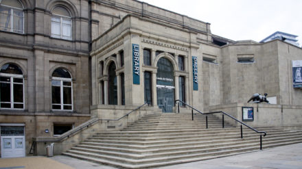 Leeds Art Gallery exterior, image courtesy Leeds Museums and Galleries