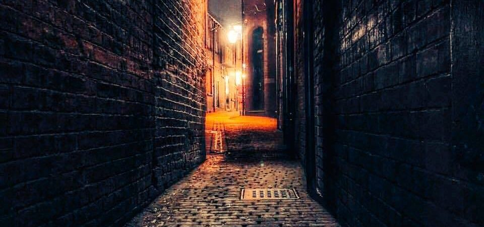 Hirst's Yard at the back of The Duncan Pub in Leeds, image by the team at The Duncan Pub