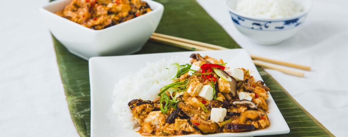 Vegan ma po tofu, Wing Yip