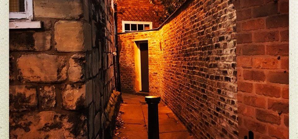 York ginnel taken by Henry Mullen