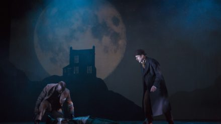 Patrick Robinson Edward Harrison & Jay Taylor in Baskerville-511 Photo © Ellie Kurttz #