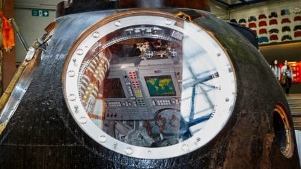 Tim Peake's Spacecraft, image by Paul Hunter