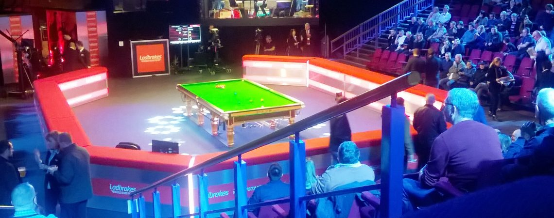 Snooker @ Preston Guild Hall 24.2.18
