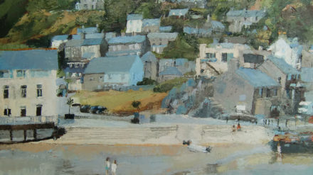 Barmouth, Two Girls, Anne Aspinall