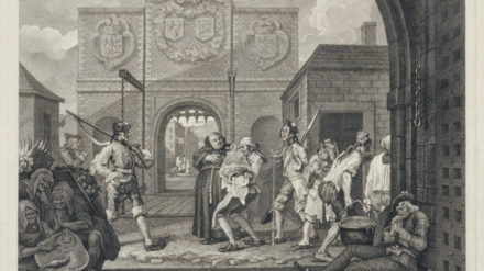 William Hogarth, The Gate of Calais, 1748. The Whitworth, The University of Manchester