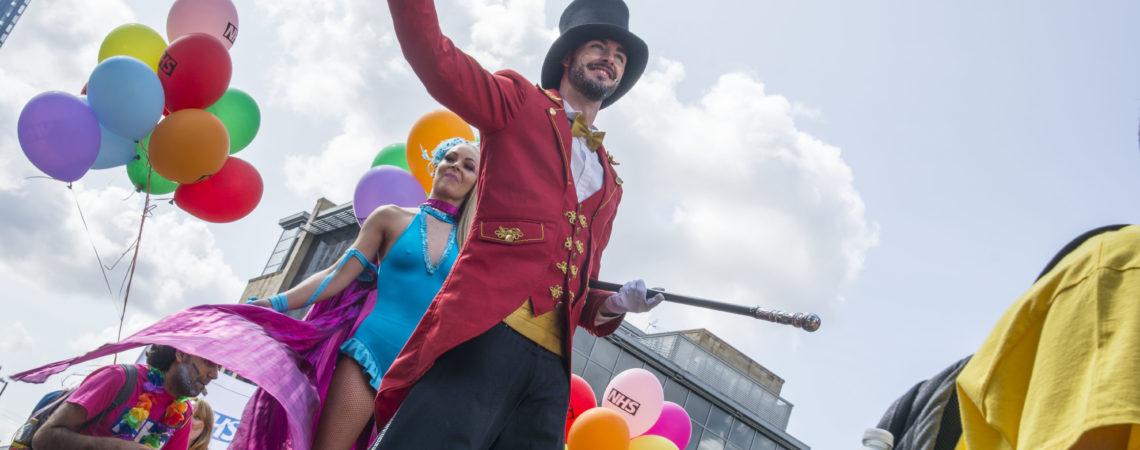 Manchester Pride 2018, Drew Wilby