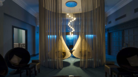 Relaxation room, The Spa, The Midland Hotel