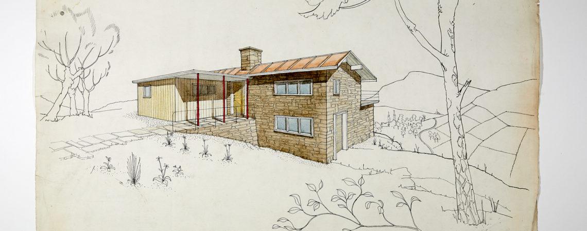 Day sketch for an architect's retreat Gordon Hodkinson