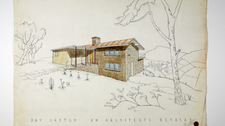Day sketch for an architect's retreat Gordon Hodkinson