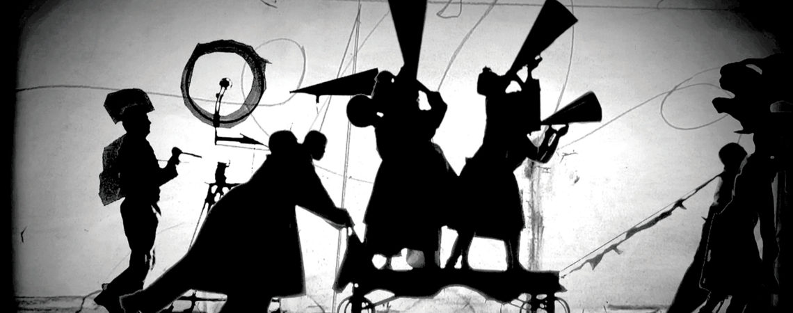 Image: William Kentridge, in collaboration with Philip Miller, Catherine Meyburgh and Peter Gibson. The Refusal of Time, 2012