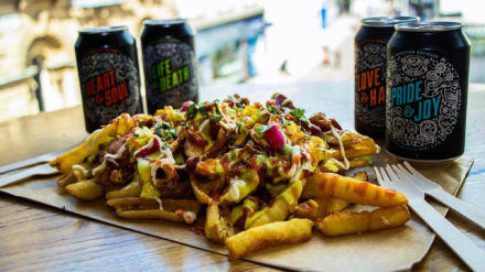 Loaded fries sharer, Slap & Pickle