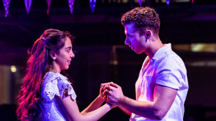 RET WestSideStory. Gabriela Garcia (Maria) & Andy Coxon (Tony) - image Richard Davenport of The Other Richard