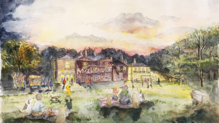 Meersbrook Hall future vision painting