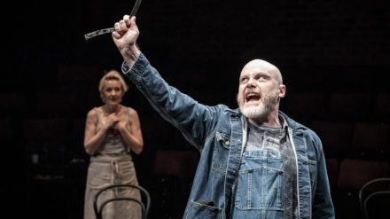 Sweeney Todd at the Everyman - Liam Tobin and Kacey Ainsworth. Photo by Marc Brenner