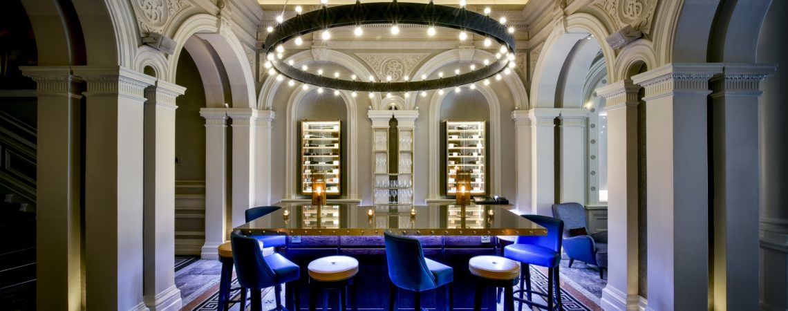 Andaz London Liverpool Street_1901 Wine Lounge_2