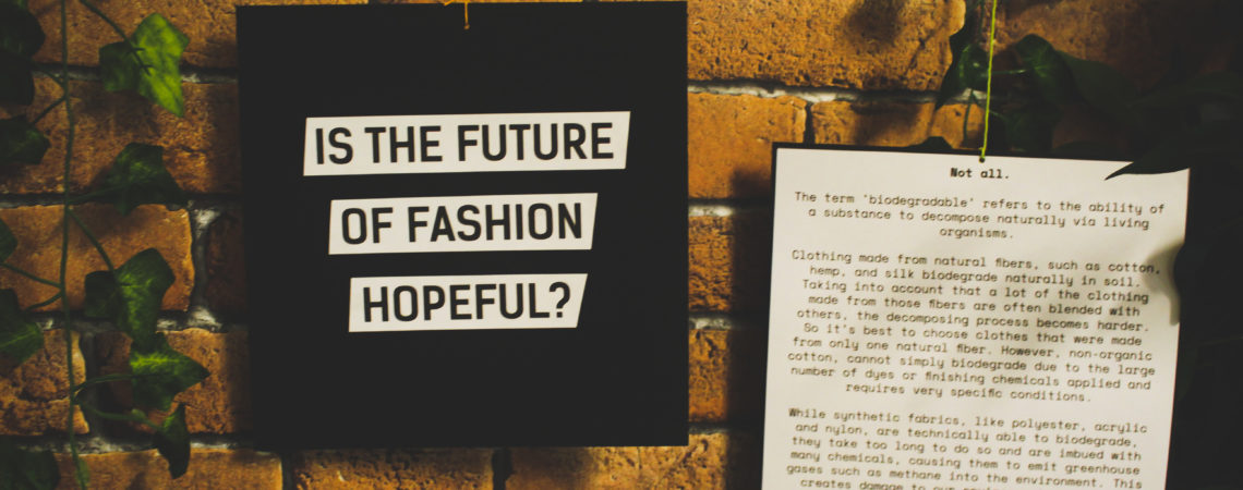 Northern Sustainable Fashion Revolution, Newcastle-upon-Tyne