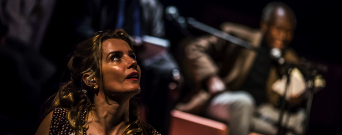 Actor Lisa Dwan Studio Créole at Manchester International Festival 2019 image credit Chris Payne 51155