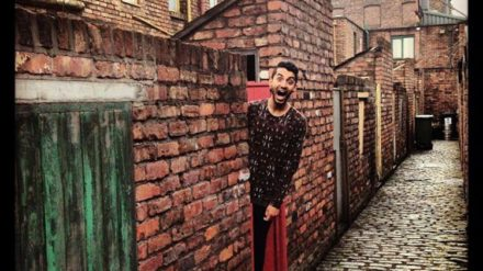 Weatherfield ginnel by Furquan Akhtar