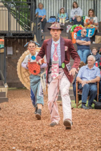The Borrowers, Grosvenor Park Open Air Theatre, Chester. Image by Mark Carline