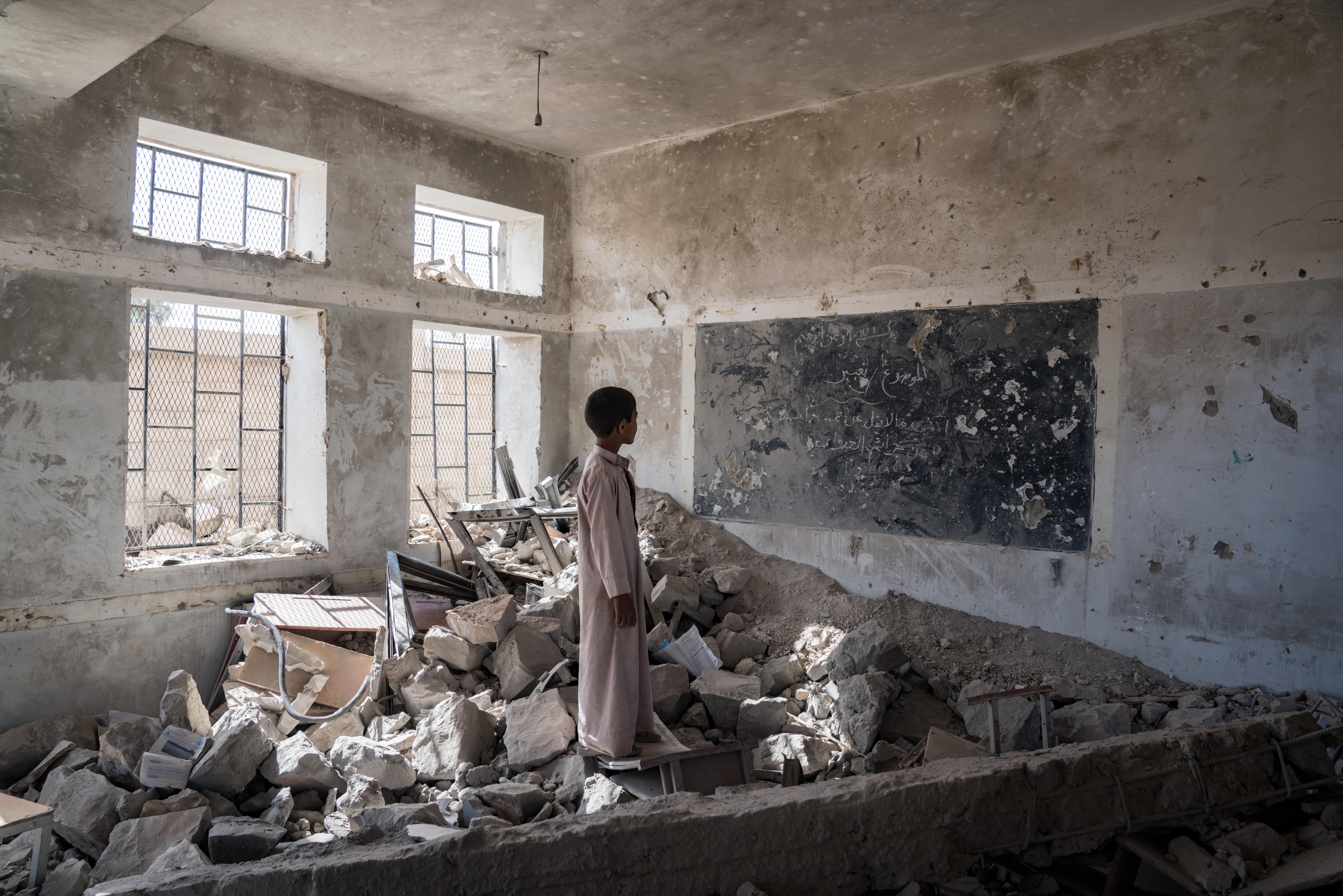 Yemen in Crisis. Credit Giles Carke