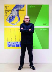 Malcolm Garrett in gallery 2017 (1)