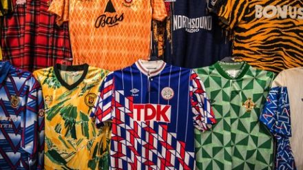 Strip! How Football Got Shirty. Credit: Chris Payne