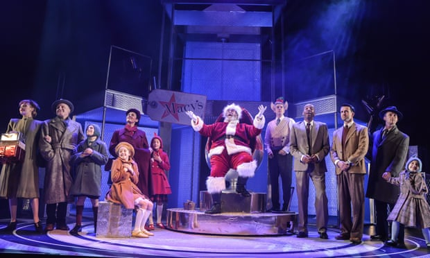 Miracle on 34th Street, at the Playhouse, Liverpool. Photograph: Robert Day