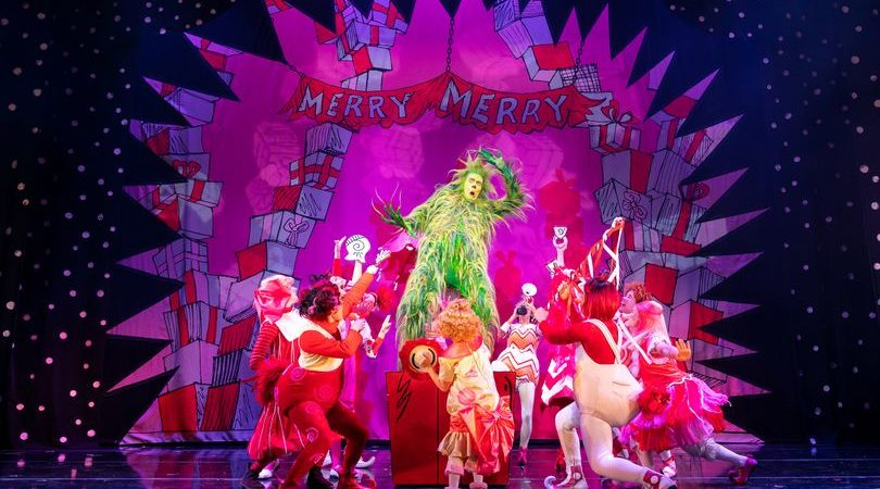 How The Grinch Stole Christmas at The Lowry Image Manuel Harlan