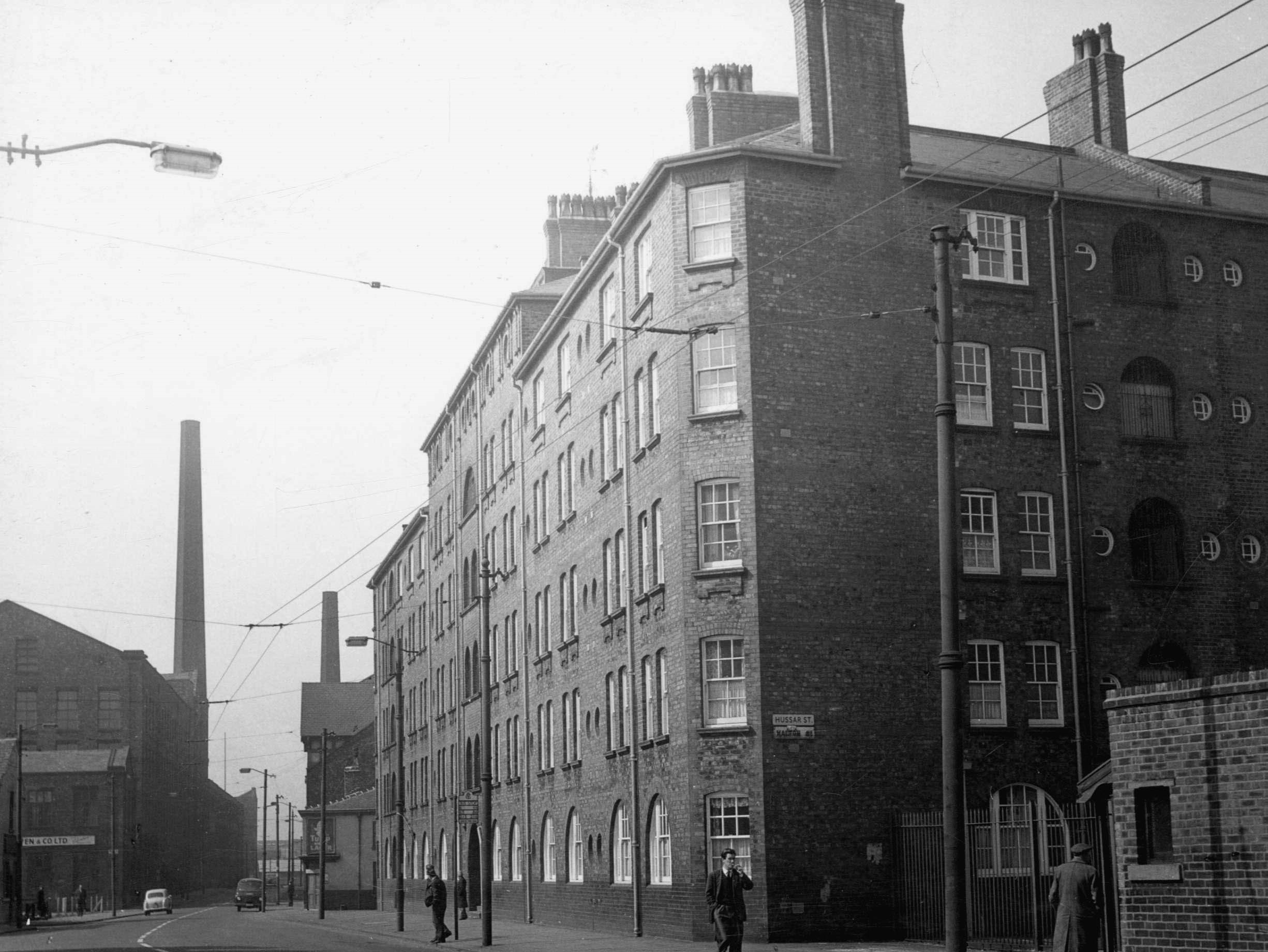 Pollad Street Granville Place 1962