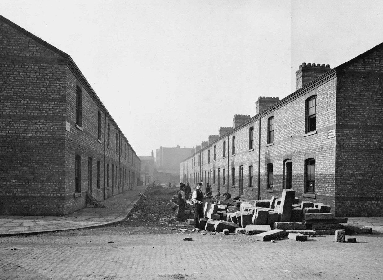 Sanitary Street later Anita Street 1898