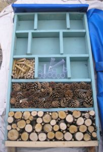 Bee Hotel construction