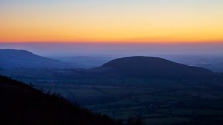 Sunset, Whorl Hill, Cleveland Way, Paul Hunter