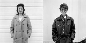 Now and Then portrait from the Free Photographic Omnibus 08_mary_clarke.jpg Mary Clarke, Hartlepool, Cleveland. 1974 and 1998
