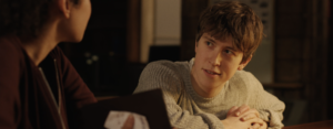 Angus Imrie as Geraint in Library - The Good Book