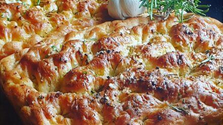 Rosemary & Garlic Focaccia