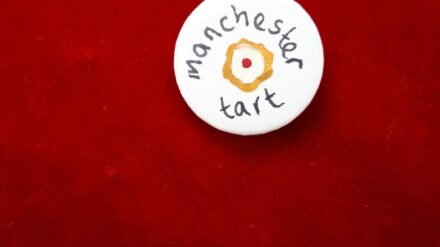 Manchester Tart badge by SWALK Creative