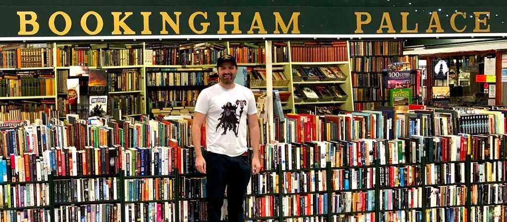 Richard Newton at Bookingham Palace and Vinyl Richie in Chester Market has seen an upturn in spend