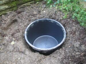 Pond tub