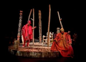 Utopia Theatre - Oluawo and Oloye Olorogun - Iyalode of Eti