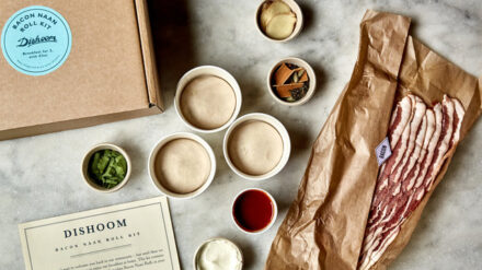 Dishoom bacon naan roll kit. Image by charlie_mckay2