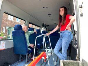 Burtonwood and Winick Community Bus