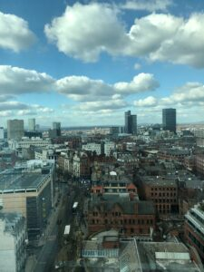 View from Manchester Office