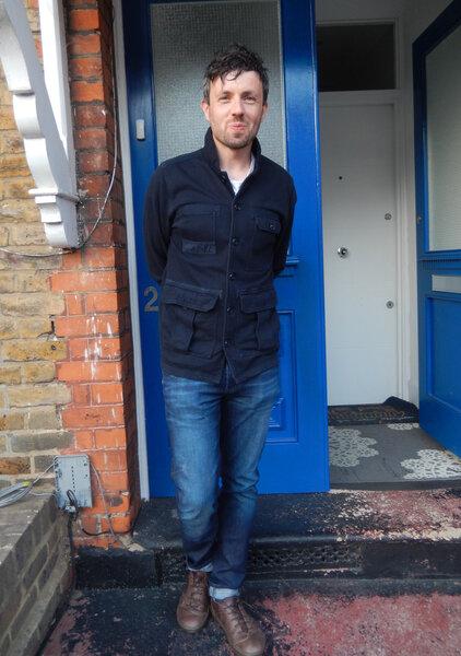 Author Tom Hazeldine