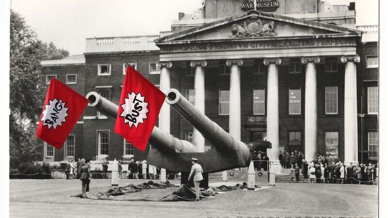 Big Guns, Imperial War Museum postcard