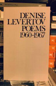 Denise Levertov Poems 1960-1967
